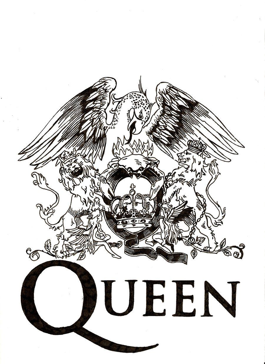 Queen Logo - Queen logo. Genial and not that simply | x Simply Genial x in 2019 ...