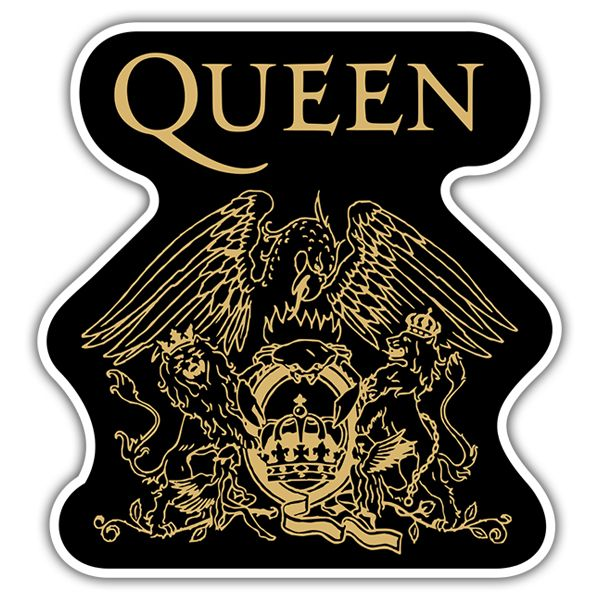 Queen Logo - Sticker Queen Logo | MuralDecal.com
