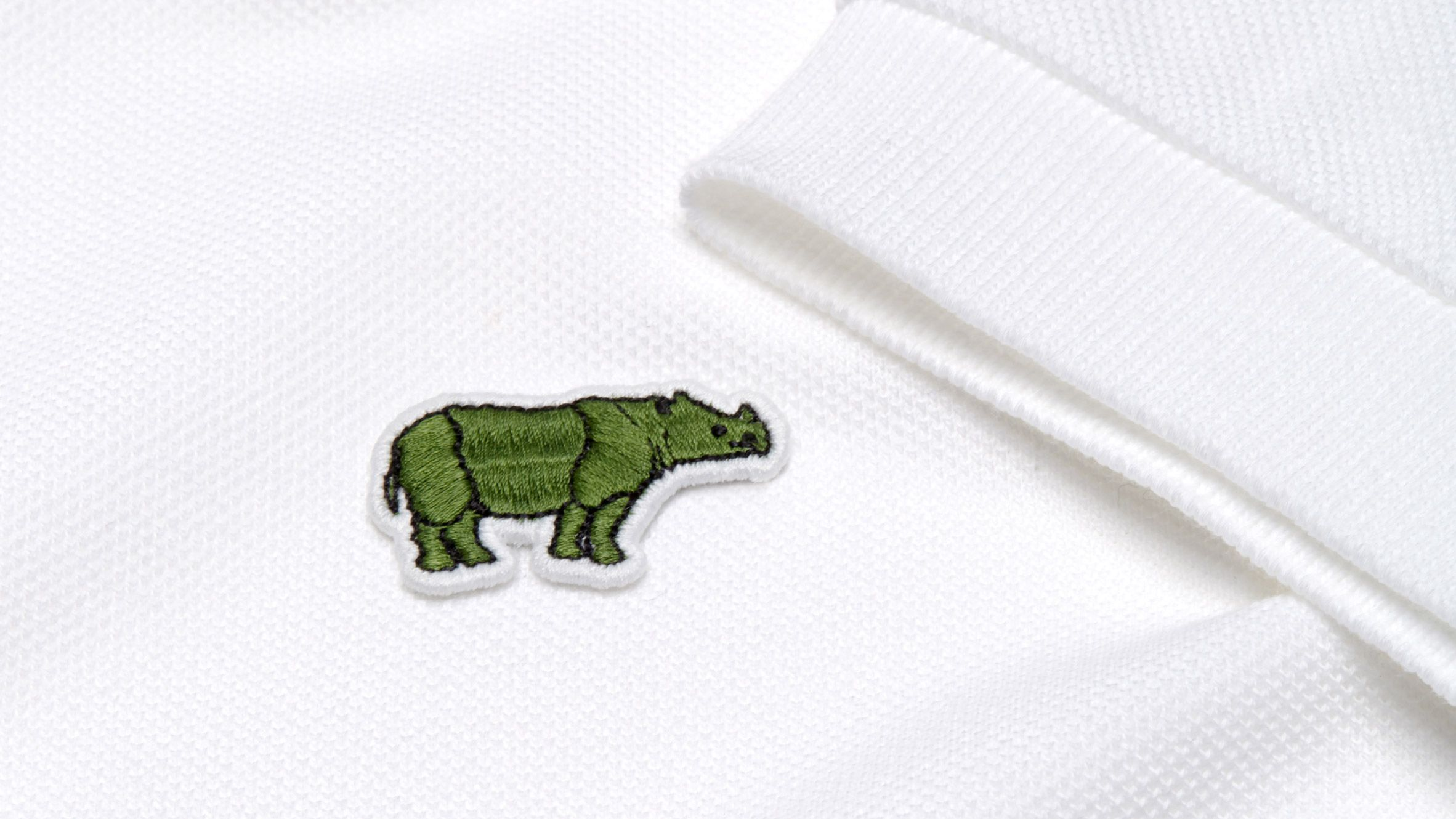Lacoste Logo - Lacoste crocodile logo replaced by endangered species