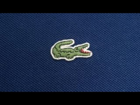 Lacoste Logo - Lacoste swaps famous croc logo for endangered species - YouTube