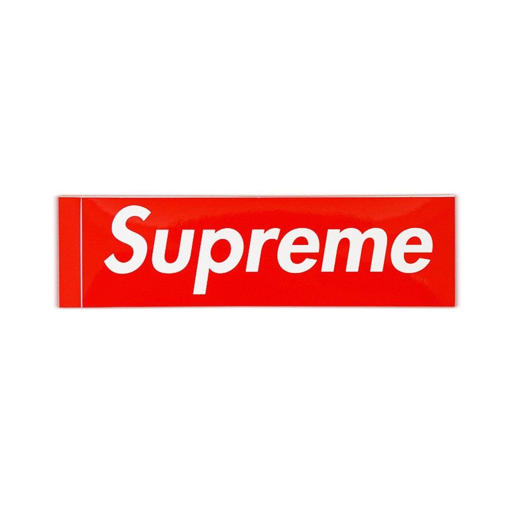 Supreme Logo - Supreme Box Logo Sticker – Streetwear Official