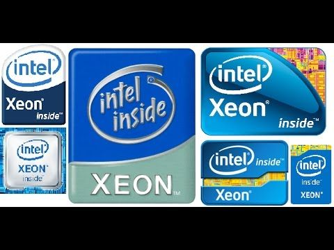 Xeon Logo - intel xeon logo animation 2001 - YouTube