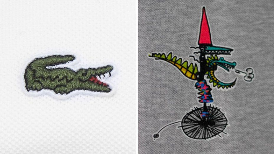 Lacoste Logo - Lacoste's New Crocodile Logo by Jean-Paul Goude | Hollywood Reporter