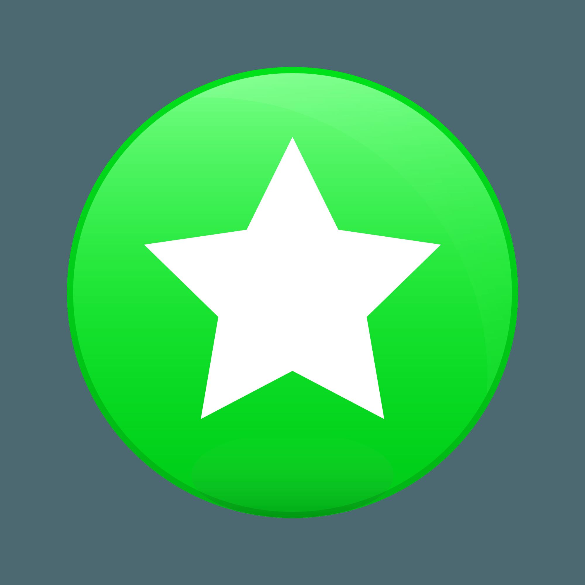 Green Circle Star Logo - LogoDix