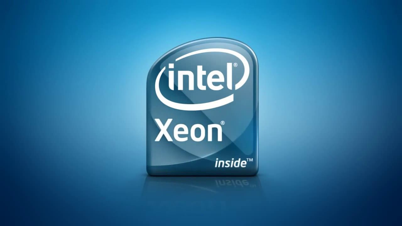 Xeon Logo - Intel Xeon Logo 2008 - YouTube