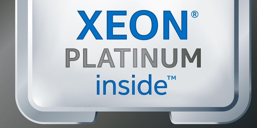 Xeon Logo - Intel Shows 1.59x Performance Improvement in Upcoming Intel Xeon ...