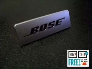 Bose Logo - BOSE Brushed Aluminium Speaker 3D Badge Sticker Emblem Logo ...