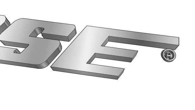 Bose Logo - Bose Logo Extruded | 3D Warehouse