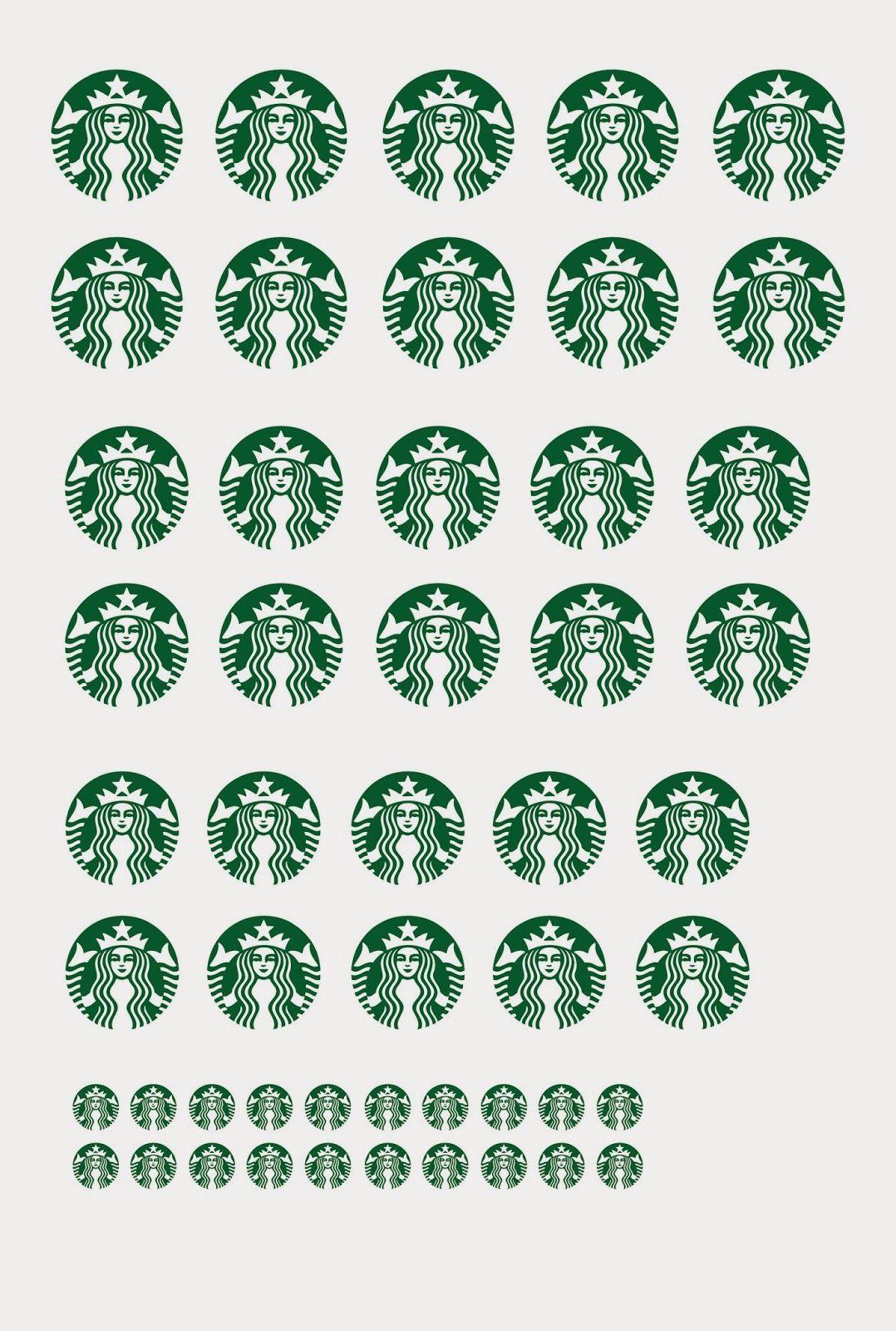 picture about Starbucks Logo Printable named Medium Printable Starbucks Symbol - LogoDix
