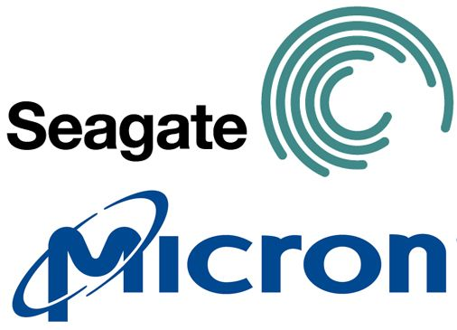Micron Logo - Micron and Seagate Announce Strategic Partnership | StorageReview ...