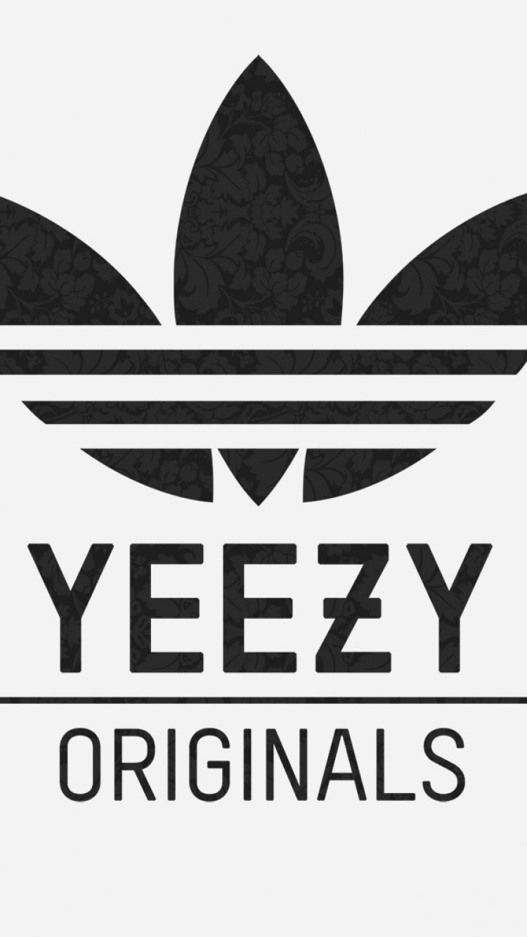 Yeezy Logo - Download Wallpaper 750x1334 Adidas, Yeezy, Logo iPhone 6 HD ...