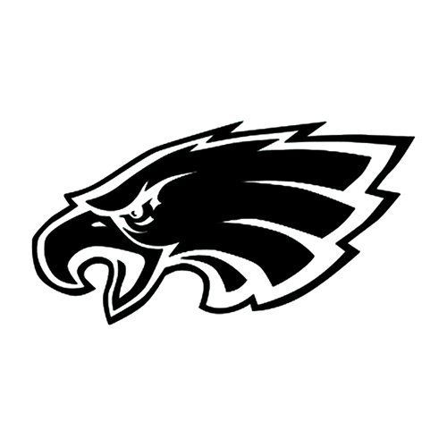 Eagles Logo - Amazon.com: SUPERBOWL SALE -Philadelphia Eagles Team Logo Car Decal ...