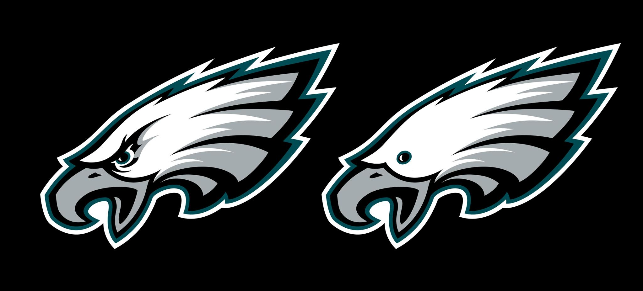 Eagles Logo - The Philadelphia Eagles logo without eyebrows : eagles