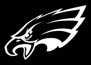 Eagles Logo - PHILADELPHIA EAGLES LOGO CAR DECAL VINYL STICKER WHITE 3 SIZES | eBay