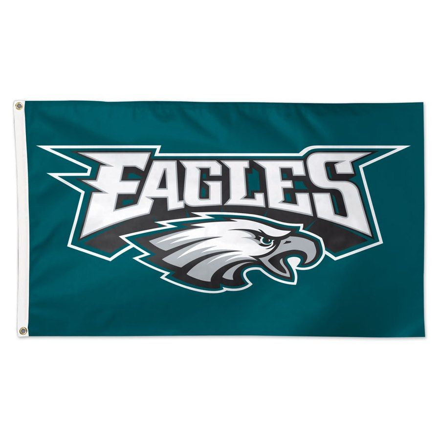 Eagles Logo - WinCraft Philadelphia Eagles Deluxe 3' x 5' Logo Flag