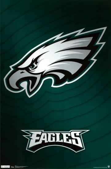 Eagles Logo - Philadelphia Eagles Logo Prints at AllPosters.com