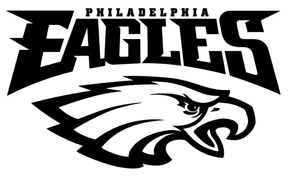 Eagles Logo - Philadelphia Eagles NFL logo football sticker wall decal 084 | Etsy