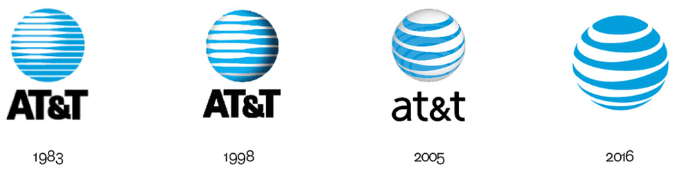 AT&T Logo - Logo Evolution: When, Why and How You Should Update Your Logo