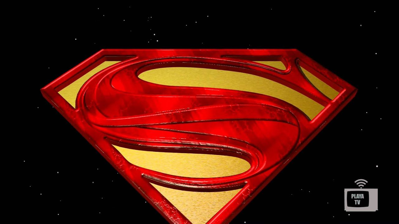 Superman Logo - Animated 3D Model Superman Logo - YouTube