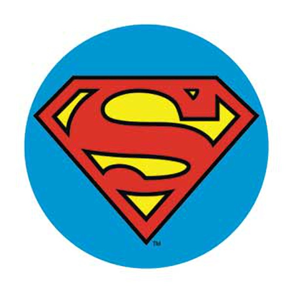 Superman Logo - Superman Logo Button