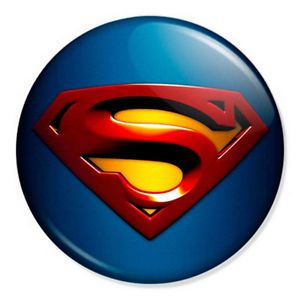 Superman Logo - Superman - Logo 25mm 1