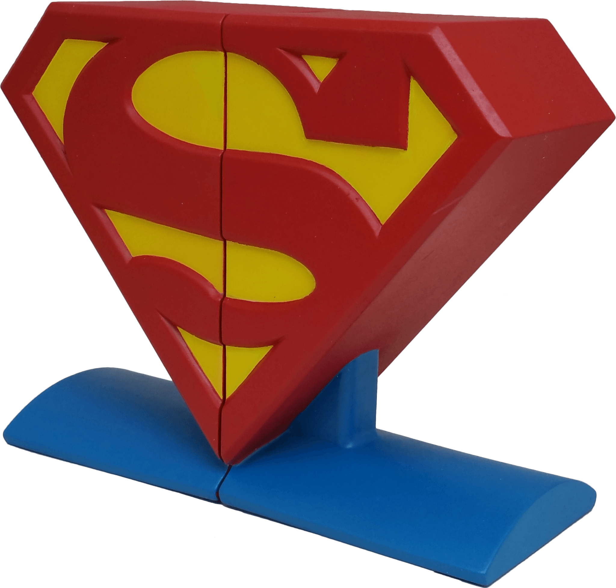 Superman Logo - DC Comics Superman Logo Bookends – Icon Heroes