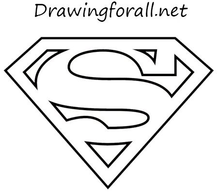 Superman Logo - How to Draw the Superman Logo | DrawingForAll.net