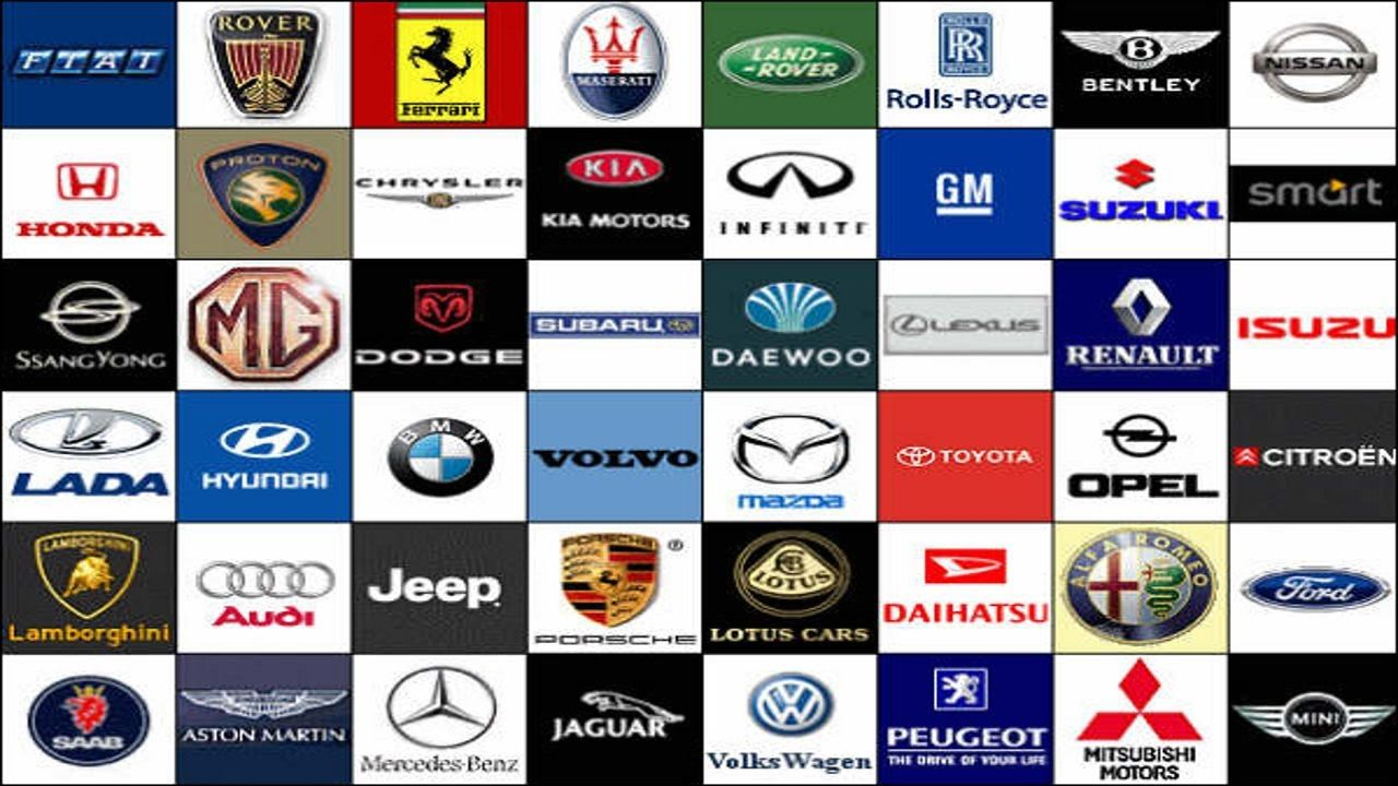 Foreign Car Brands >> Foreign Car Brand Logo Logodix