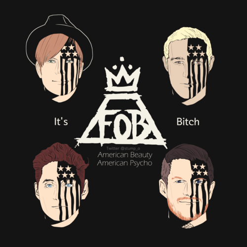 FOB Fall Out Boy Logo - fall out boy logo wallpaper - Buscar con Google
