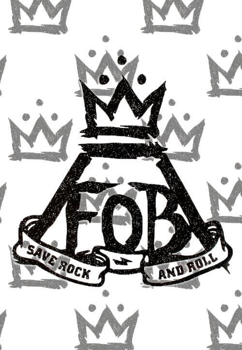 FOB Fall Out Boy Logo - Fall Out Boy | Music>Life | Pinterest | Fall Out Boy, Save rock and ...