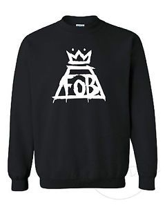FOB Fall Out Boy Logo - FALL OUT BOY FOB CROWN BAND LOGO MUSIC FASHION TUMBLR UNISEX ...