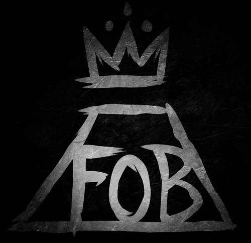 FOB Fall Out Boy Logo - fall out boy logo - Buscar con Google on We Heart It