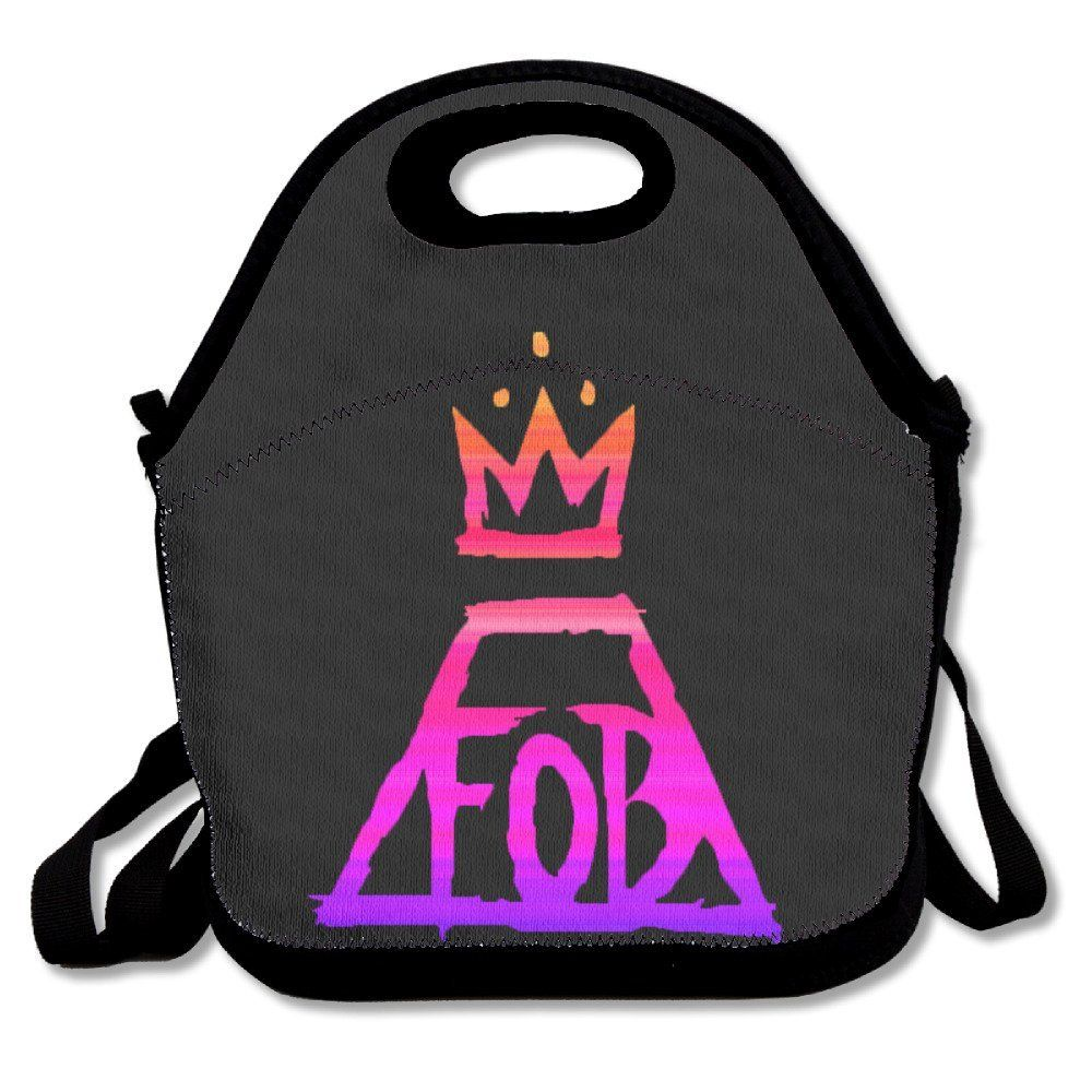 FOB Fall Out Boy Logo - Buy Fall Out Boy FOB Logo Casual Lightweight Lunch Tote Bag in Cheap ...