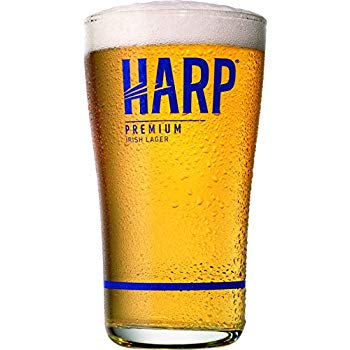 Harp Beer Logo - Amazon.com | Harp Premium Irish Lager Midland Style Beer Glass: Beer ...