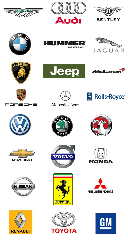 All Cars Symbols Logo Logodix