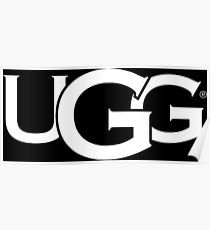 UGG Logo - Ugg Boots Posters | Redbubble