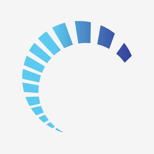Blue Half Circlelogo