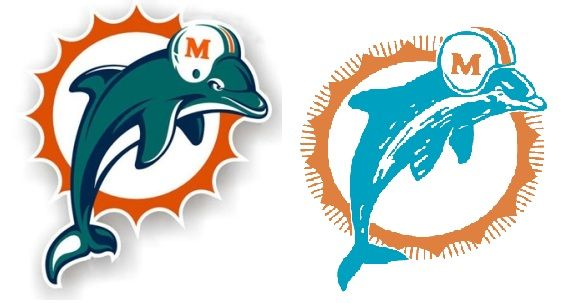 Dolphins Old Logo - Miami Dolphins Need Logo Change