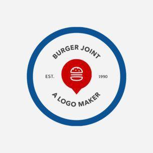 Red Circle Food Logo Logodix