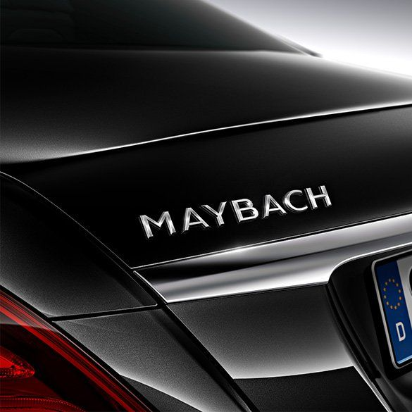 Maybach Logo - Maybach logo lettering rear lid | S-Class X222 | Original Mercedes-Benz