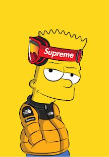 Bart Bape Supreme Logo Logodix