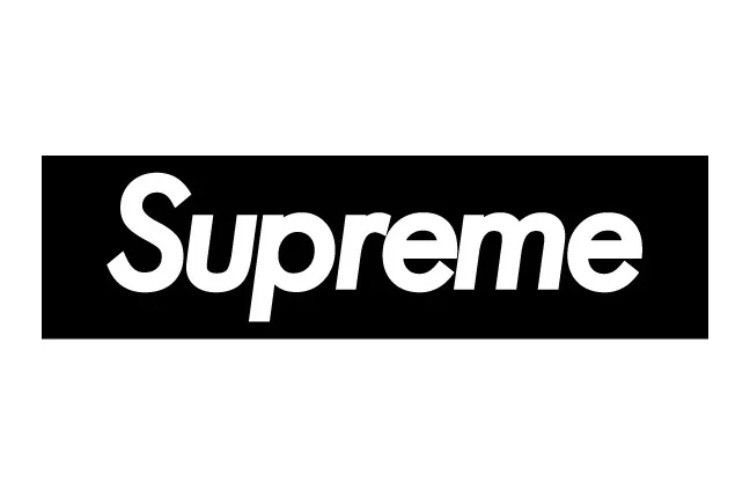 Supreme Logo - SUPREME RARE BLACK LOGO STICKER VINYL DECAL | eBay