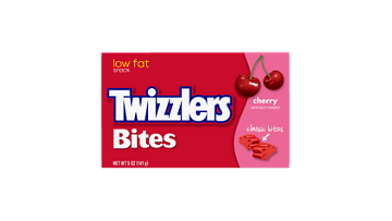 Twizzlers Logo - TWIZZLERS Cherry Bites | Products & Nutrition