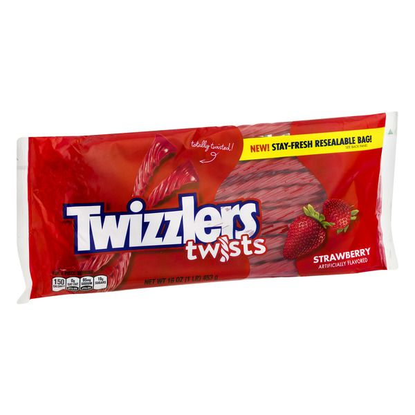 Twizzlers Logo - Twizzlers Strawberry Twists Candy 16OZ | Angelo Caputo's Fresh Markets