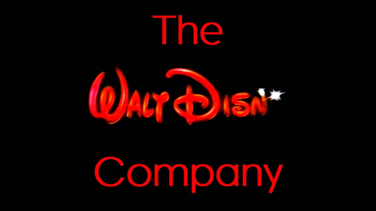 The Walt Disney Company Logo - The Walt Disney Company logo - YouTube
