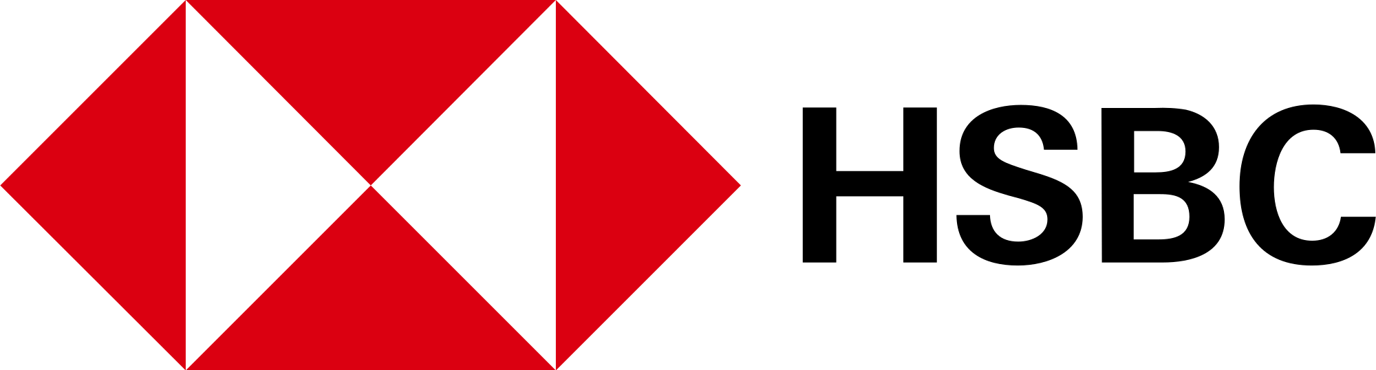HSBC Logo - File:HSBC logo (2018).svg - Wikimedia Commons