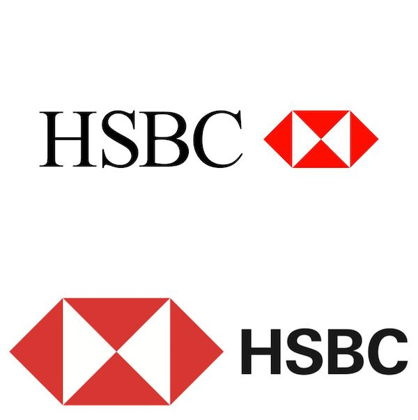 HSBC Logo - HSBC Unveils New Logo, Sans Serif Look To Better Fit In The New ...