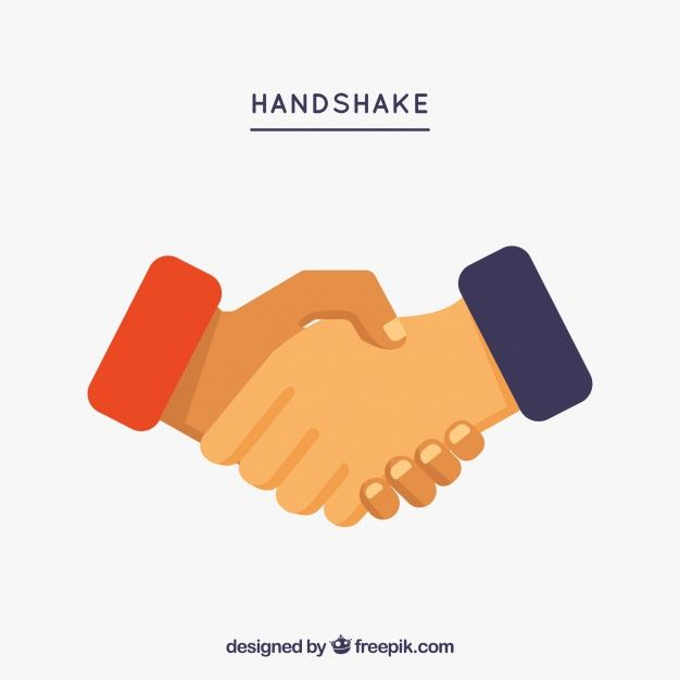 Orange Hand Logo - Handshake Vectors, Photos and PSD files | Free Download