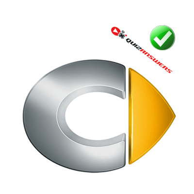 Silver C Yellow Triangle Logo - Silver C With Yellow Triangle Logo - Logo Vector Online 2019