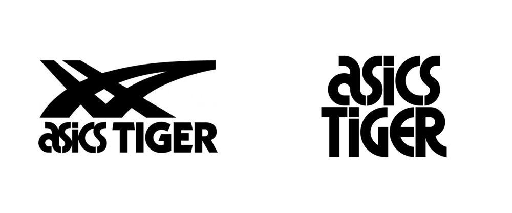 Asics Logo - Brand New: New Logo and Identity for ASICS Tiger by Alan Peckolick ...